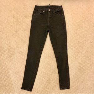 Forever 21 high rise skinny jeans